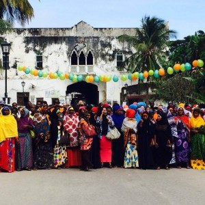 Danmission project in Zanzibar arranges race to promote rights of African women.