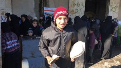 Syria: Providing humanitarian aid
