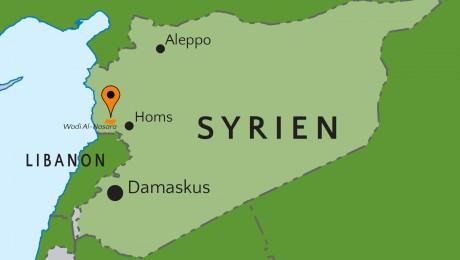 Danmission provides medicine in the Christian Valley in Syria
