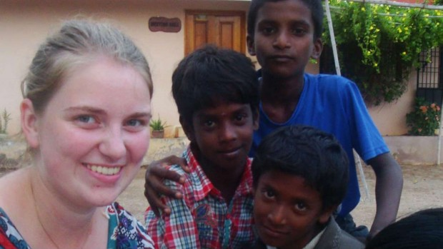 Ida Folmersen, volunteer, India