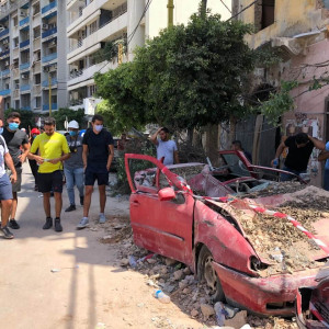 Lebanon: Danmission's partners help in Beirut